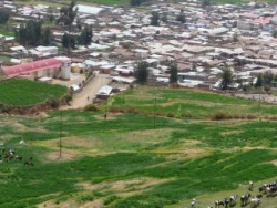 Panorama Pampacolca pueblo