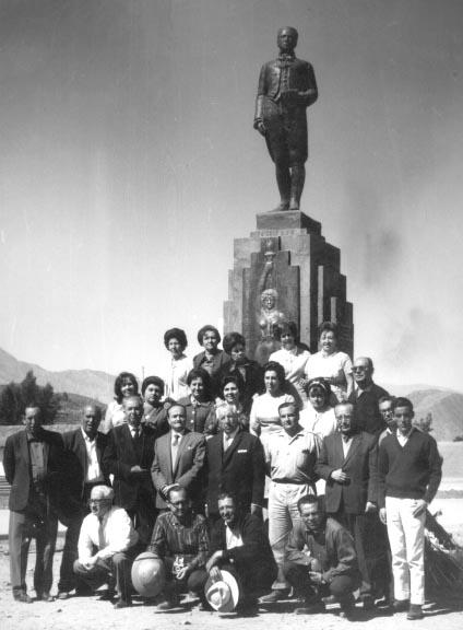 Inauguración del monumento a Juan Pablo Viscardo y Guzman