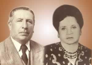 Domingo Rosas Arias y Aurora Chirinos de Rosas